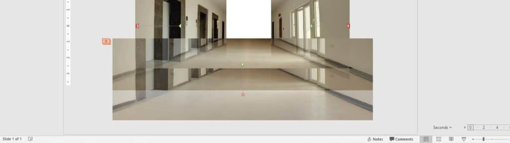 Length of Down Motion Path