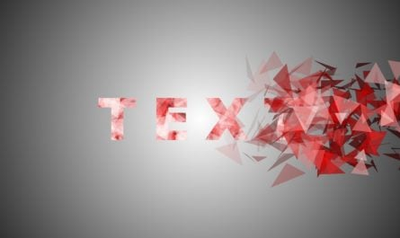 Particles Text Effect Animation in PowerPoint