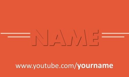 Simplicity Free Youtube Intro Template PowerPoint