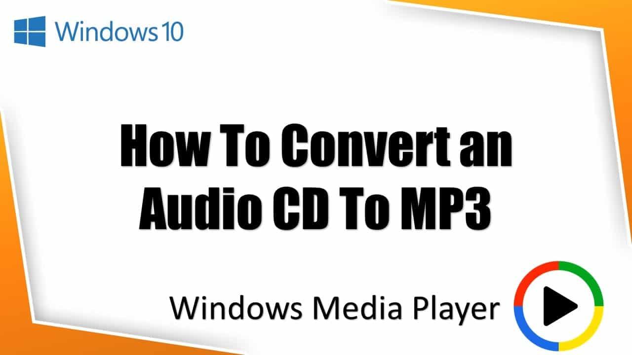 CDA To MP3 Thumbnail