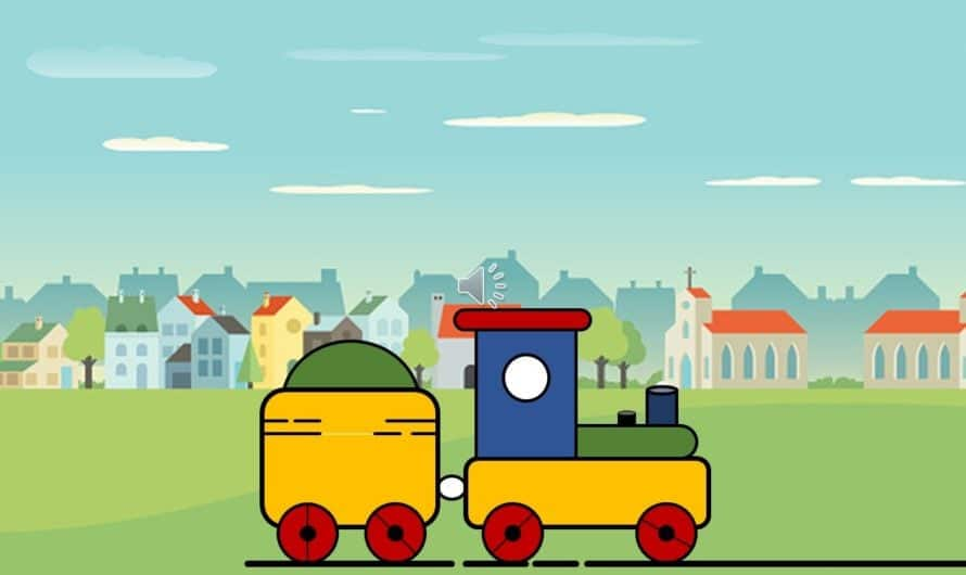 Kids Toy Train Animation in PowerPoint 2016 / 2019 Tutorial