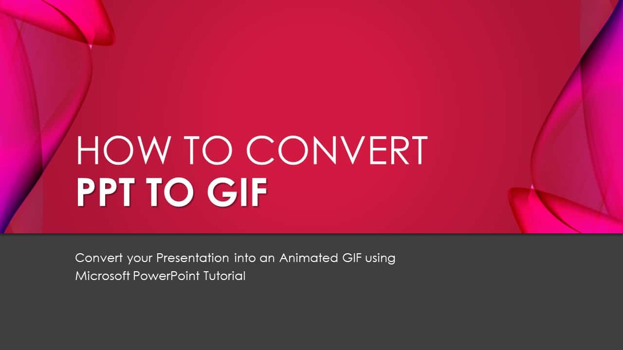 PPT To GIF