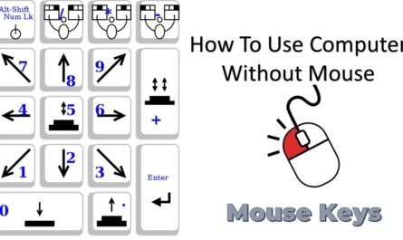 How To Use Mouse Keys in Windows