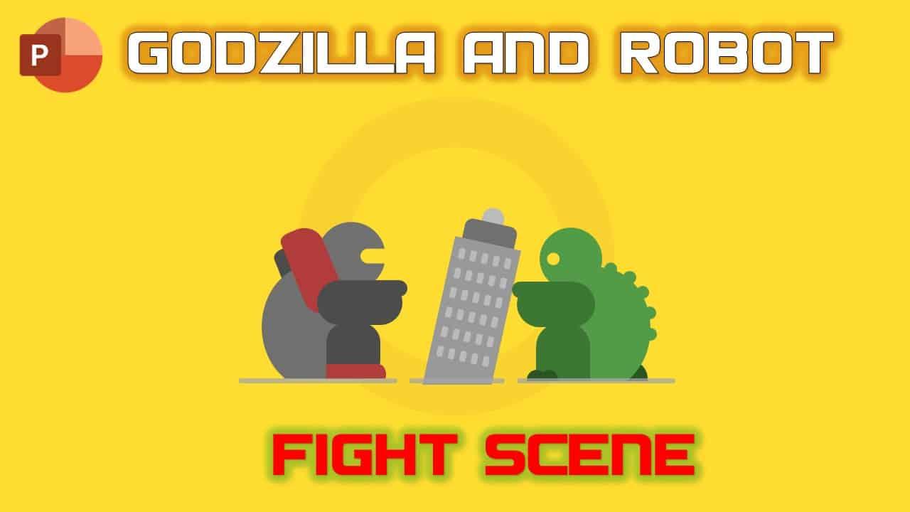 Godzilla and Robot Character Animation