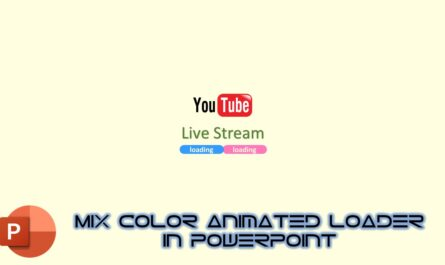 Mix Color Animated Loader in PowerPoint