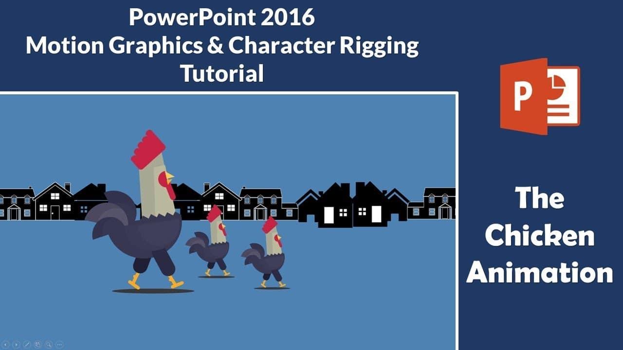 Chicken Animation in PowerPoint