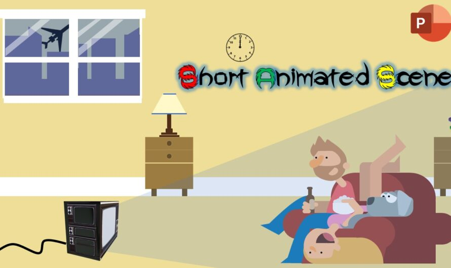 A Short Animated Scene in PowerPoint Animation Tutorial
