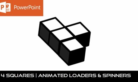 3D Squares Animation in PowerPoint